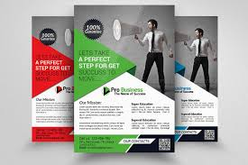 business to business marketing flyers business marketing agency flyers by de design bundles