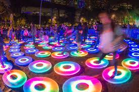 Inner Harbor Light Show The Cool List Fam Friendly Picks At Light City Baltimore