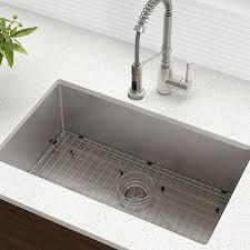 Kraus Khu100 30 Kitchen Sink 30 Inch Stainless Steel Amazoncom