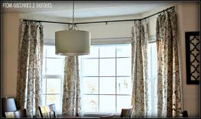 bay window curtain rods 112 inspiring style for for a bay window