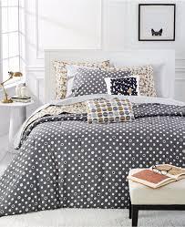 martha stewart collection whim pop dot 5 pc twin comforter set bedding 0