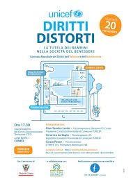 Diritti Distorti e la tutela dei bambini nella società del benessere, il 20  novembre a Cuneo per la Giornata Mondiale dell'Infanzia e dell'Adolescenza  - Unicef Italia