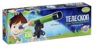 Телескоп <b>BONDIBON Французские опыты Науки</b> с Буки для ...