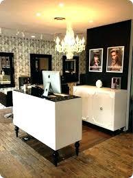 decoration salon furniture give a link design desk reception for beauty modern designs hair salons