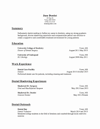 Dental School Application Resume Examples Dental Assistant Resume Templates Awesome Dental School Application 23