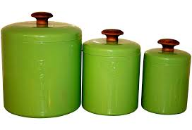 Designer Kitchen Canister Sets Modern Lime Green Kitchen Canisters Quicuacom