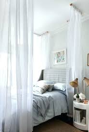 Drapes For Canopy Bed Sheer Canopy Curtains Large Size Marvellous ...
