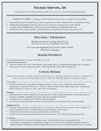 Sample Resume For Lpn Nurse Sample Lpn Nursing Resume New Sample Resume For Lpn New Grad