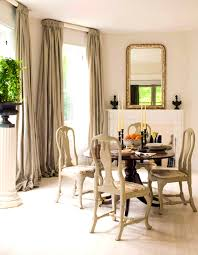 Formal Dining Room Window Treatment Ideas Home Intuitive Dining - Bay window in dining room