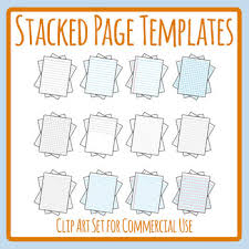 …continuous line drawing is actually a very powerful way to create a piece that is both hard edged and fluid, representational and abstract, rational and emotional all in one. Stacks Of Pages Paper For Writing Drawing Lined Grid Dot Clip Art Templates