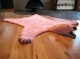 faux polar bear rug fake bear rug awesome fake bear rug faux fur area rug ivory