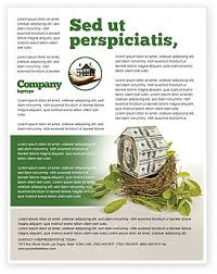 mortgage flyers templates loan on mortgage flyer template background in microsoft word