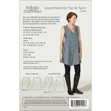 Tunic Patterns Extraordinary Asymmetrical Top Tunic By Indygo Essentials IndygoJunction