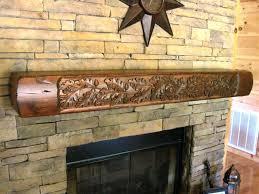 rustic wooden fireplace mantels uk oak wood mantel shelf