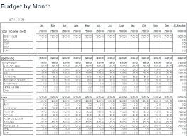Household Expense Sheet Monthly Expenses Template Household Expense Free Retirement