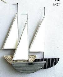 sailboat wall decor outdoor wall decor amazon metal art regatta sailboats from designer wood sailboat expert on wood boat wall art with sailboat wall decor newhomedecoration fo