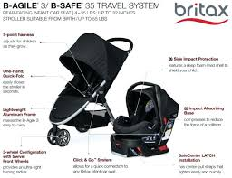 britax b safe 35 base stroller car seat base travel system b agile safe steel grey