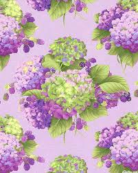 3236 best Fabric images on Pinterest | Ideas, Lavender and Courtyards & Holly Holderman - Sausalito Cottage - Hydrangeas & Berries - Quilt Fabrics  from www.eQuilter Adamdwight.com