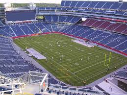 Gillette Stadium View From Upper Level 301 Vivid Seats