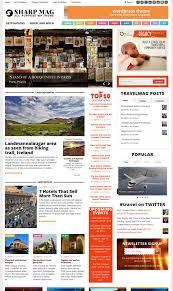 Wordpress Template Newspaper Responsive Magazine Newspaper Wordpress Theme Sharpmag