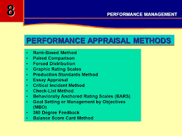 performance management objectives understand aims objectives 12 rank based