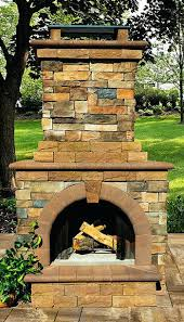outdoor stone fireplace fireplaces outdoor living solutions with outside stone fireplace kits outdoor stone fireplace