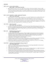 Agile Resume Stunning Agile Coach Resume 48 Gahospital Pricecheck