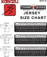 Hockey Jersey Size Conversion Chart Fanatics Hockey Jersey Size Chart Koho Hockey Jerseys