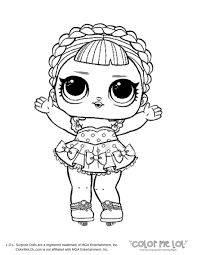Lol Doll Coloring Pages Beautiful Printable Doll Coloring Baby