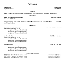 How To Write Resume For First Job Resume Peppapp