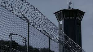 barbed wire fence prison. Plain Prison Barbedwirefenceoutsideguardtoweratsacramento And Barbed Wire Fence Prison