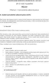 Jednotné Zadání Závěrečných Zkoušek Pro šk R 2011 H01 Kadeřník