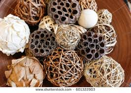 Decorative Wicker Balls