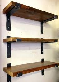 metal and wood shelving modern industrial style very heavy duty shelf brackets ideal and made for large 1 1 2 x 1 4 wood shelves fits in great in so many