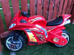 toys r us ride on motorbike good condition