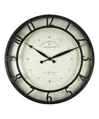 firstime wall clock slat in wood