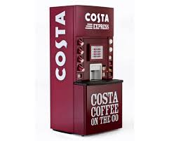Costa Vending Machines Enchanting Costa Express Concept Launches Nationwide