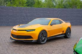 chevy camaro 2015 transformers. Delighful Transformers A Chevrolet Camaro That Converts Into The Iconic Bumblebee Returns To  Big Screen In Michael Bayu0027s U201cTransformers Age Of Extinctionu201d Theaters June 27  And Chevy 2015 Transformers C