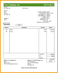 Pro Form Invoice Proforma Invoice Template Thedailyrover Com