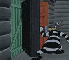 open door gif by cheezburger