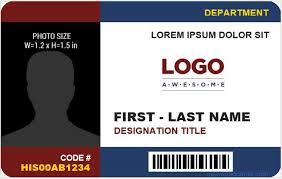Id Cards Template Company Id Template Under Fontanacountryinn Com