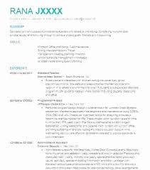 Resume Example Template Unique Programmer Resume Example Game Programming Assistant Teacher Summary