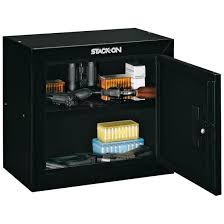 Stack-On Pistol / Ammo Security Cabinet - 616692, Gun Cabinets ...