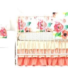 crib bedding neutral neutral color crib bedding chic c watercolor fl ruffle baby bedding neutral color crib bedding