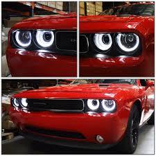 2012 Dodge Challenger Fog Light Bulb Replacement Front Head Lamp For Dodge Challenger 2009 2010 2011 2012 2013 2014 Led Headlight Projector High Beam Parking Fog Lamp