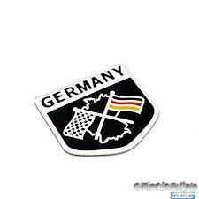 2018 Germany Car Emblem Side Wing Sticker For Toyota Vw R36 R400 ...