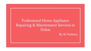 Repairing And Maintenance Ppt Home Appliance Repairing Maintenance Services Al