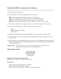 Usa Jobs Cover Letter - April.onthemarch.co
