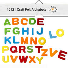 1 inch upercase large capital felt alphabet letters sticker for diy craft ornaments assorted colors 26