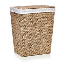 wilko rush rectangular laundry hamper image